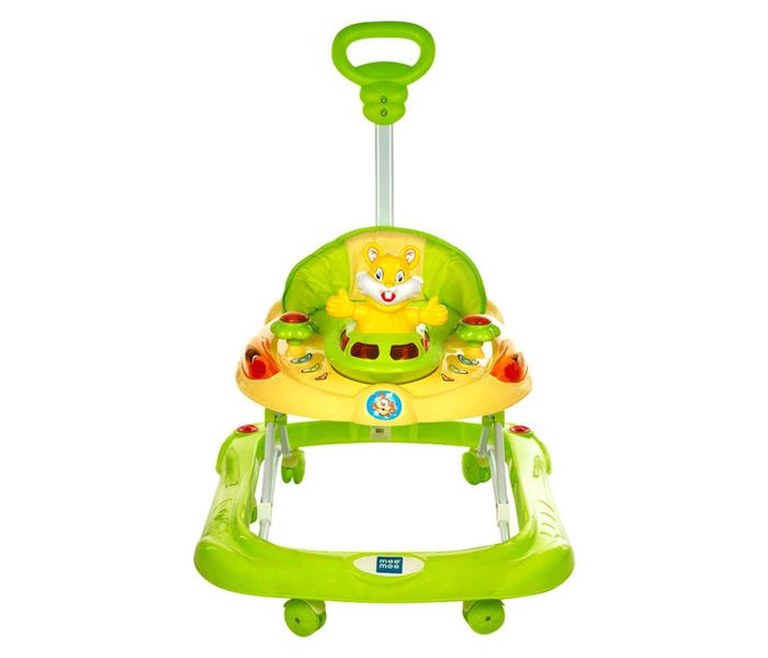 Mee Mee Safety Baby Walker with Adjustable Height (Green)