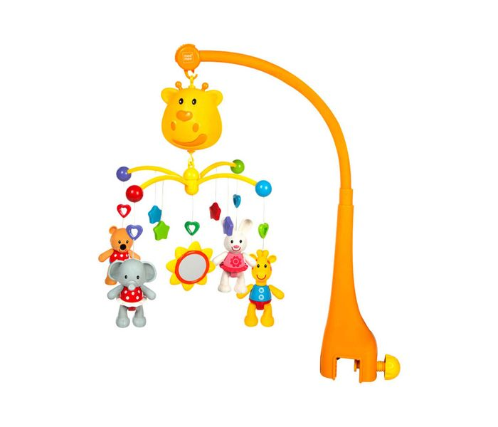 Mee Mee 3 in 1 Musical Animal Cot Mobile (Multicolor)