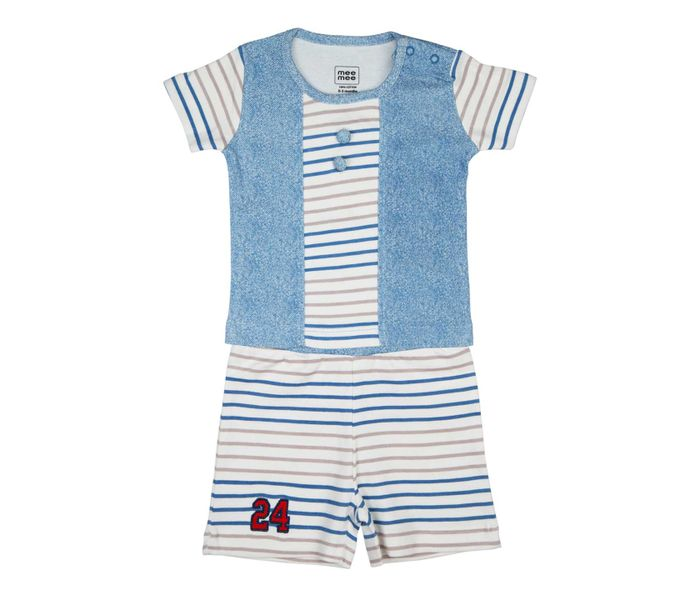 MEE MEE SHORT SLEEVE BOYS SHORT SET