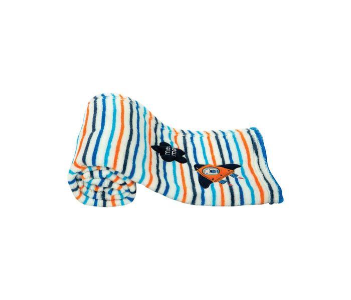 Mee Mee Multipurpose Soft Baby Blanket (Orange)