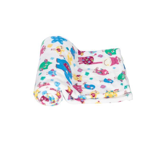 Mee Mee Soft Baby Blanket (Snuggly Comfort) (Light Blue)