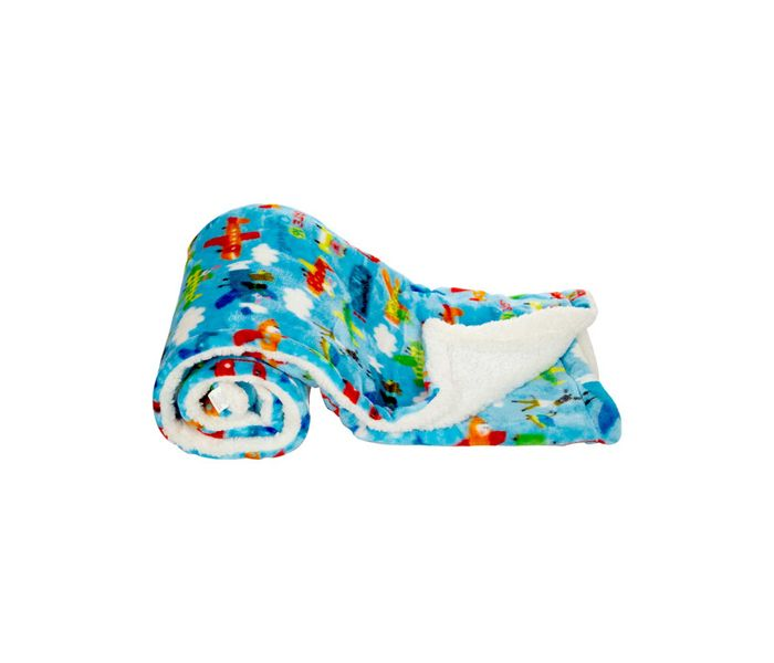 Mee Mee Soft Double Layer Baby Blanket (White)