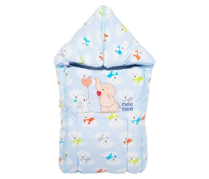 Mee Mee Baby 3-in-1 Multi Usage Bed Cum Sleeping Bag Carry Nest – (Blue)