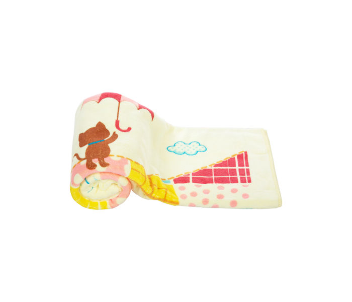 Mee Mee Soft Absorbent Baby Towel (Yellow)