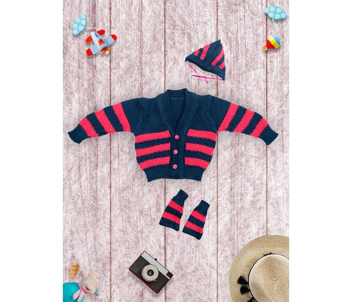 Mee Mee Baby Sweater Sets – Beige_Blue
