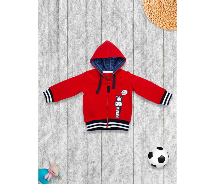 Mee Mee Full Sleeve Boys Jacket  – Red