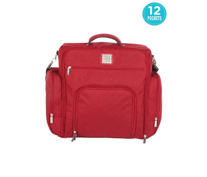 Mee Mee Multipurpose Diaper Bag (Maroon)