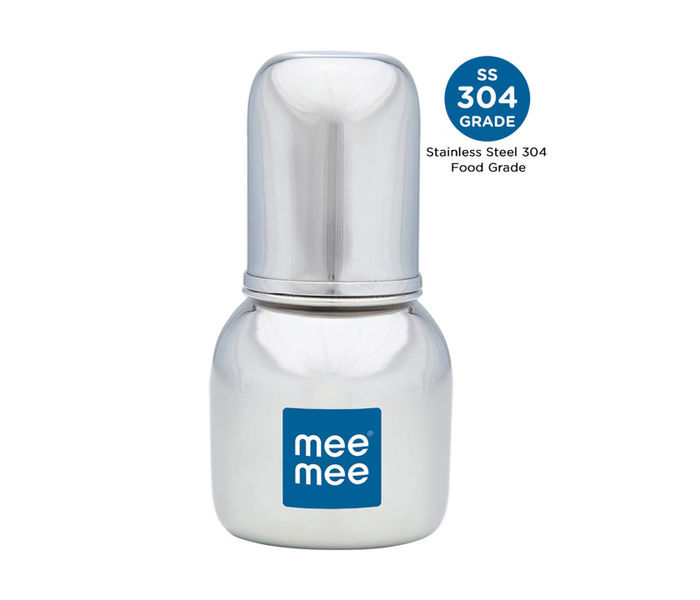 Mee Mee Premium Steel Feeding Bottle (120ml)
