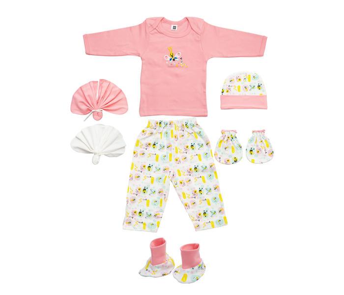 Pink Printed Gift Set
