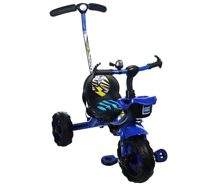 Mee Mee Easy to Ride Baby Tricycle With Push Handle (Blue)