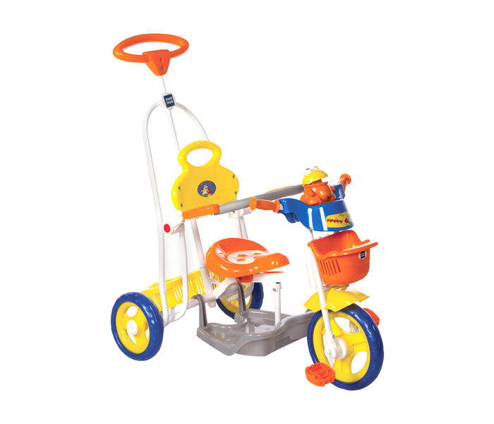 Mee Mee Baby Tricycle with Rocker Function (2 in 1) & Easy-to-Push Handle