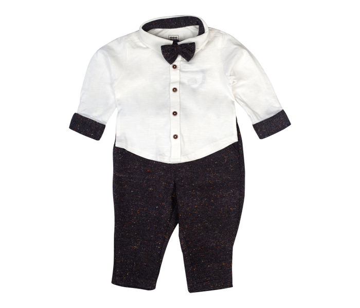 Mee Mee Boys Full Sleeve Knits Shirt With Cotton Full Length Pant Set