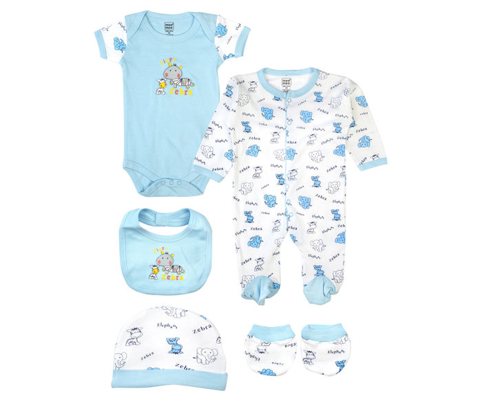 Mee Mee Clothing Gift Set ? Pack Of 5 Blue