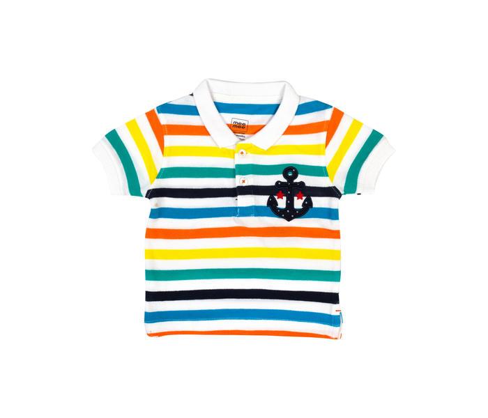 Mee Mee Kids Boys Short Sleeve Polo T-Shirt