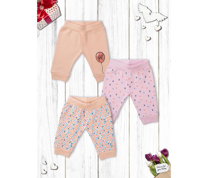 Mee Mee Baby Leggings Pack Of 3 – Whiteaop_Peach_Pinkaop