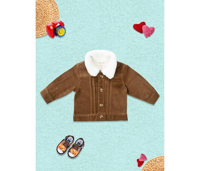 Mee Mee Full Sleeve Boys Jacket – Brown