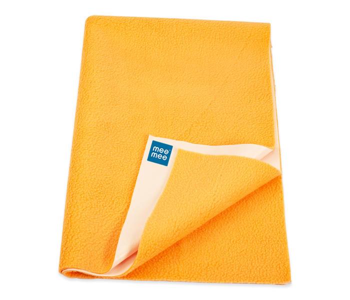 Mee Mee Baby Waterproof Bed Protector Total Dry Sheets – (Orange)