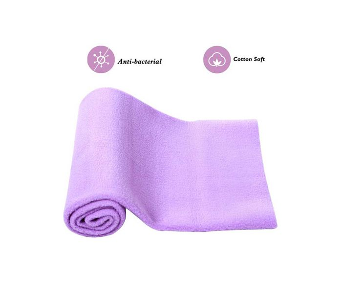 Mee Mee Baby Total Dry and Breathable Mattress Protector Sheet – (Purple)