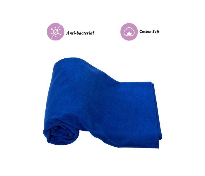 Mee Mee Baby Total Dry and Breathable Mattress Protector Sheet – (Royal Blue)