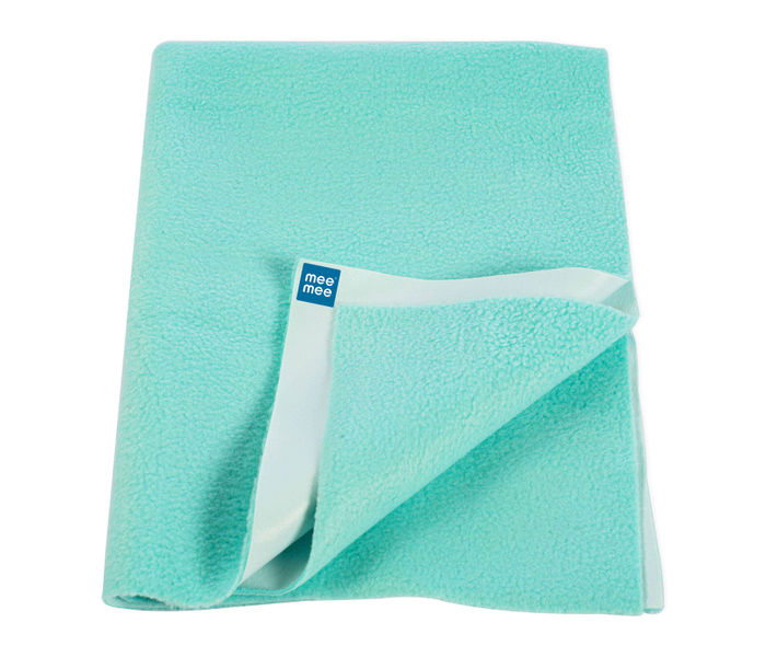 Mee Mee Baby Total Dry and Breathable Mattress Protector Sheet – (Green)