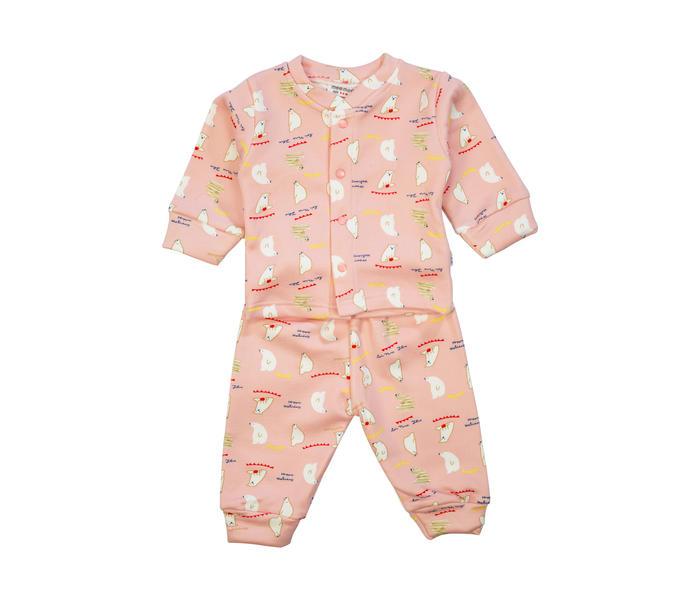 Mee Mee Baby Printed Night Suit – Light Pink