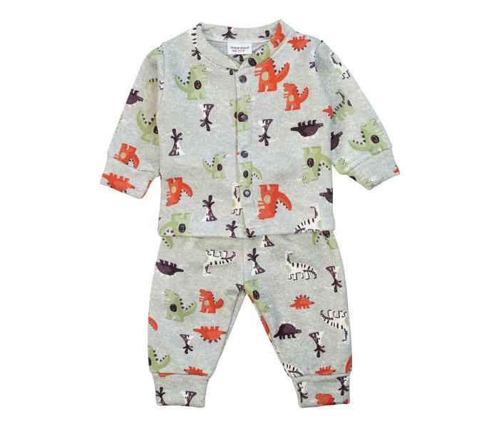 Mee Mee Baby Printed Night Suit – Grey