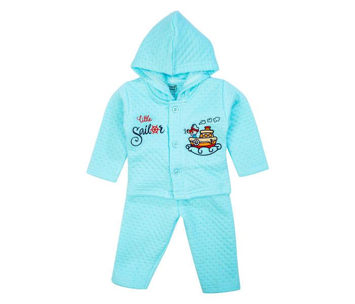 Mee Mee Baby Hooded Legging Set – Light Blue