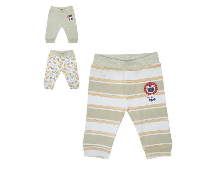 Mee Mee Baby Leggings Pack Of 3 – Olive & White