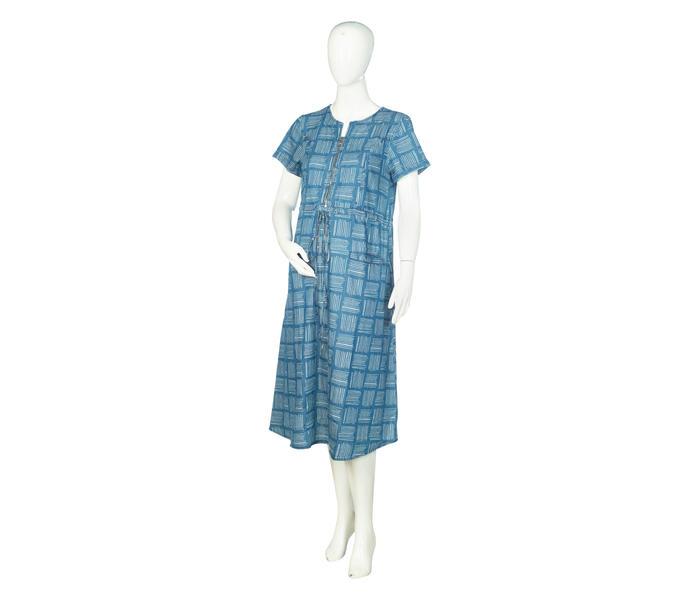 Mee Mee Stylish Maternity Dress With Nursing Option – Denim Blue