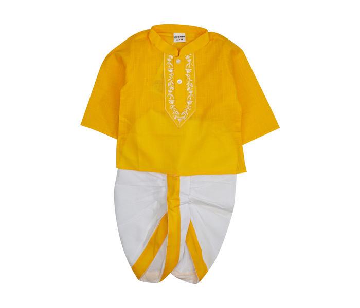 Mee Mee Baby Dhoti-Kurta Set – Yellow