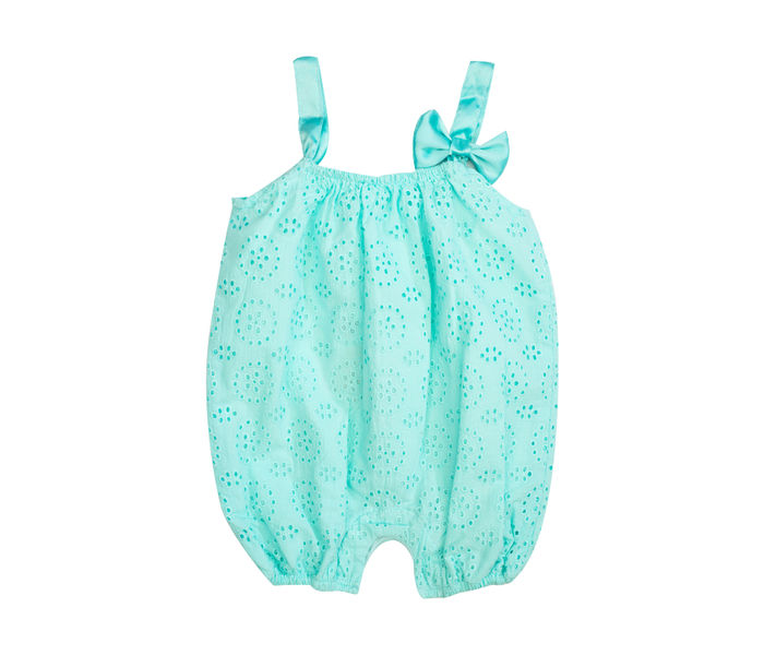 Mee Mee Baby Chicken Strappy Dungaree – Sea-Green