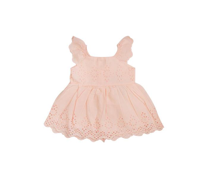 Mee Mee Kids Sleeveless Chicken Frock – Baby Pink