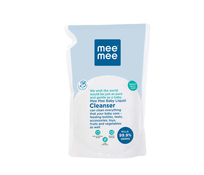 Mee Mee Anti Bacterial Baby Liquid Cleanser (500ml)