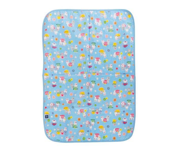 Mee Mee Reversible Multipurpose Plastic Baby Mat – (Light Blue)