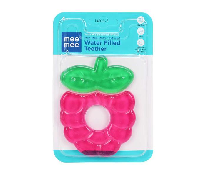 Mee Mee Multi-Textured Water Filled Teether (Pink)