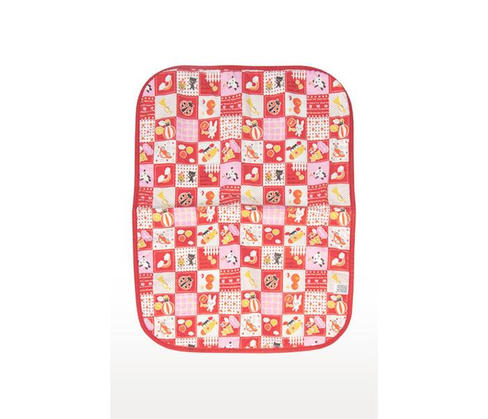 Mee Mee Reversible Multipurpose Plastic Baby Mat – (Red)