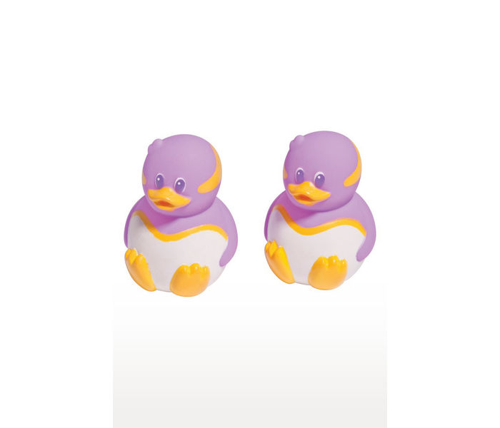 Purple and White Bath Toy