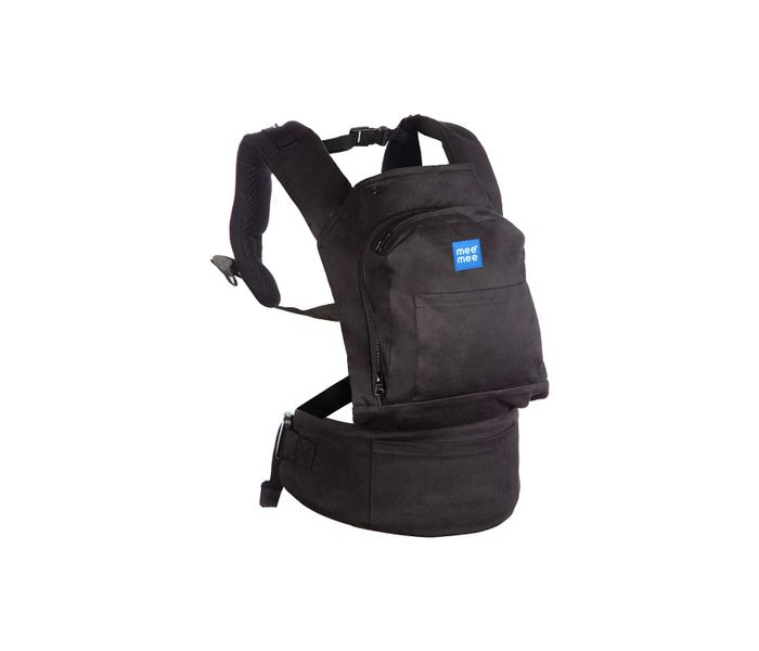 Mee Mee Cuddle Up Baby Carrier with Padded Waistbelt (Black)