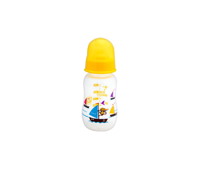 Mee Mee Premium Baby Feeding Bottle (Single Pack - 125 ml, Yellow)