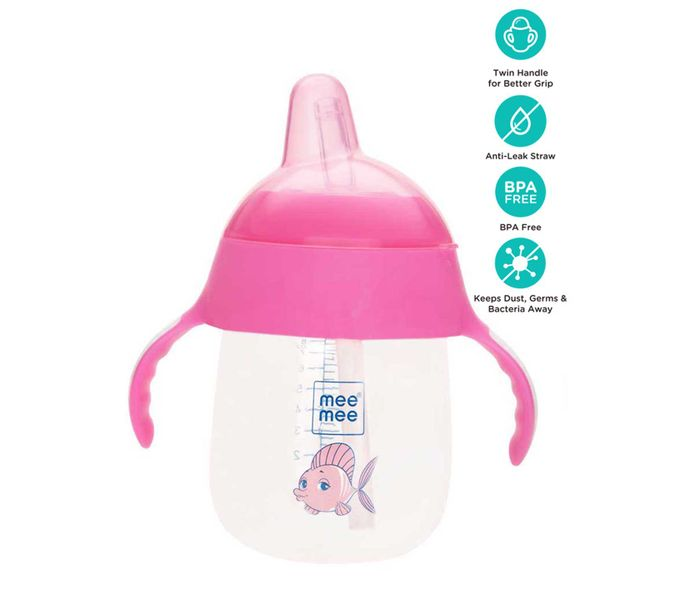 Mee Mee Twin Handle Straw Sipper Cup