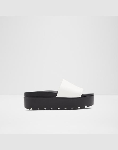 ALDO Women White Footbed
