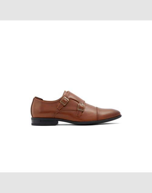 CALL IT SPRING MEN BROWN MONK-STRAP SHOES