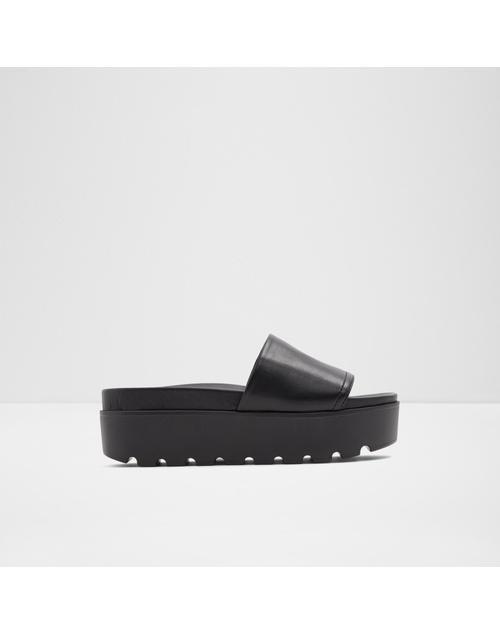 ALDO Women Black Footbed