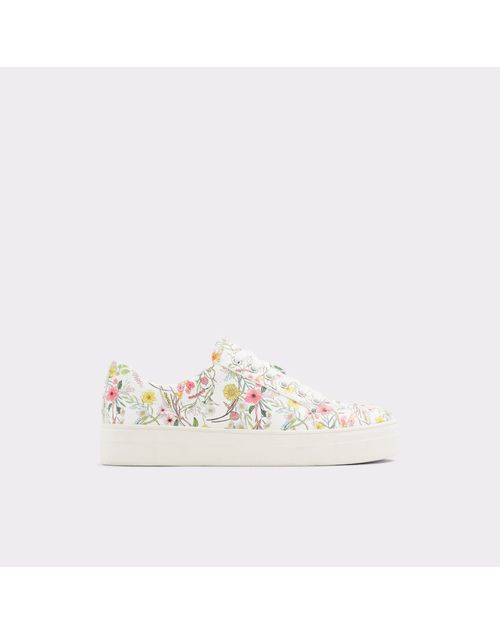 ALDO WOMEN WHITE MULTI OUTDOOR SPORTS SHOES