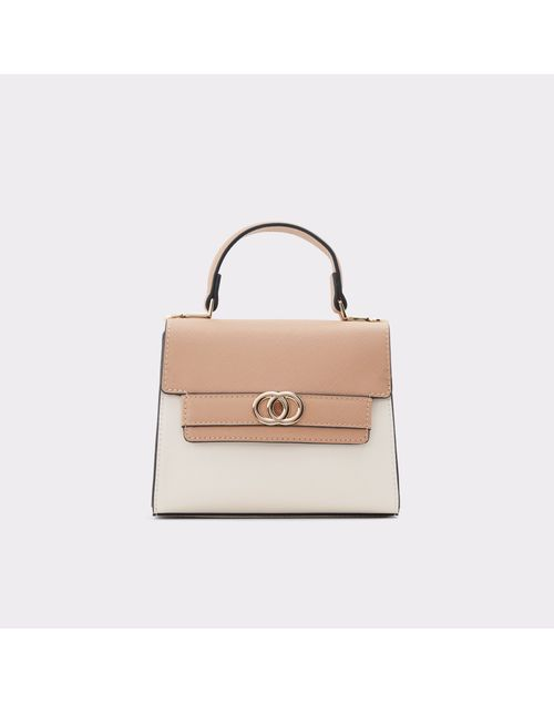 WOMEN'S BEIGE HANDBAG