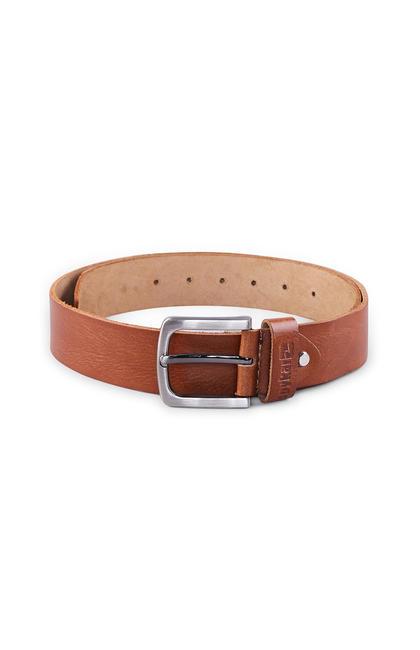 spykar Tan Genuine Leather Belts