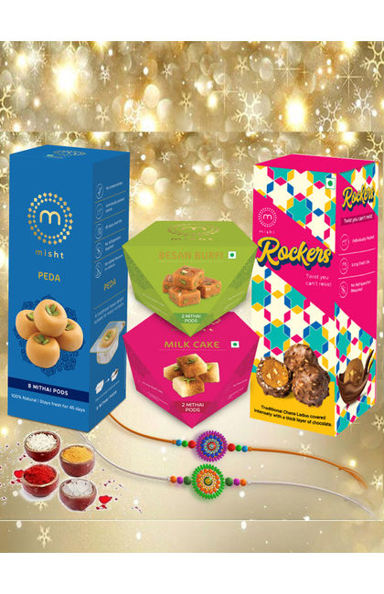 Rakhi Sweets Combo-4