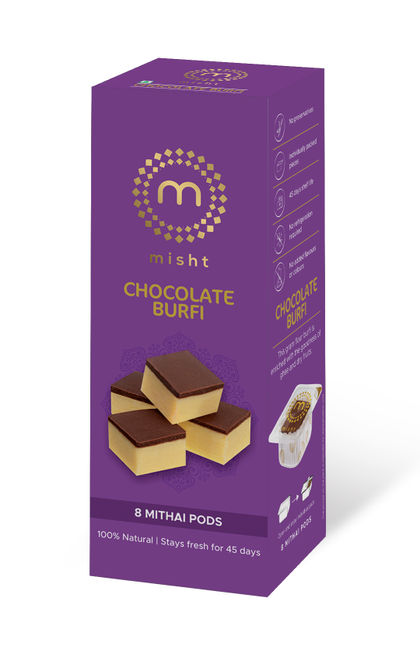 Chocolate Burfi 8 POD Box