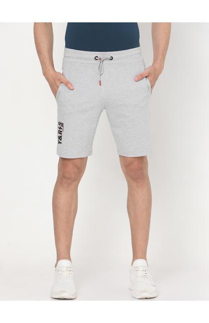 Spykar ASH MELANGE Cotton Shorts