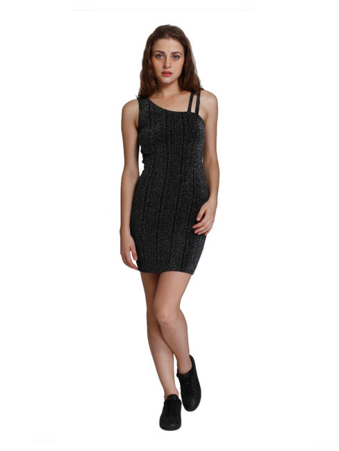 Solid Party Midi Dress